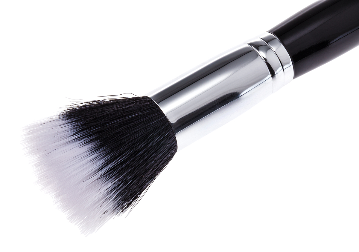 Large Two Tone Brush Black